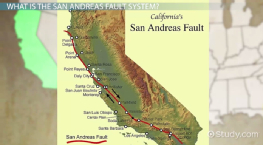 San Andreas Fault: Location, Facts & Earthquakes