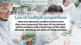 Law of Multiple Proportions: Definition & Examples