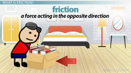 Friction Lesson for Kids: Definition & Examples