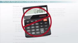 Chemical Calculation Problems for the AP Test