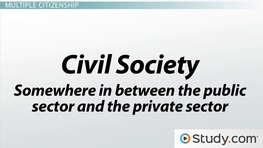 Civil Society and Citizenship
