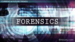 Current Trends in Forensic Science