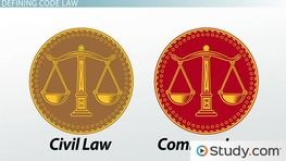 Code Law: Characteristics of a Civil Law System