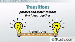 How Transitions Show Shifts, Sequence & Relationships in Your Writing