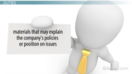 Communications Manager: Job Description, Duties and Requirement