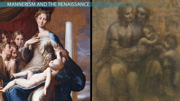 Comparing Mannerist and Renaissance Art