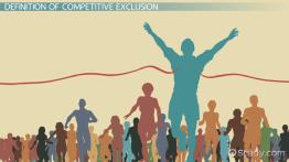 Competitive Exclusion Principle: Definition & Example