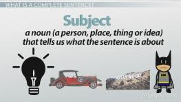 Complete and Incomplete Sentences: Examples & Overview