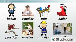 Conjugation of Regular -AR Verbs in Spanish