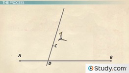 Constructing a Parallel Line Using a Point Not on the Given Line