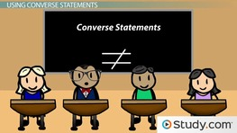 Using Converse Statements to Prove Lines Are Parallel