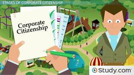 Corporate Citizenship: Definition & the Five Stages