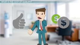 Cost of Quality: Definition & Examples