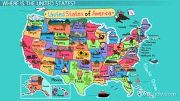 United States Geography: Lesson for Kids