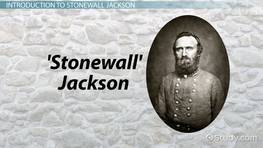 General Stonewall Jackson in the Civil War: Facts & Battles