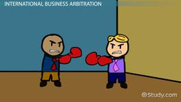 Settling International Conflicts in Business