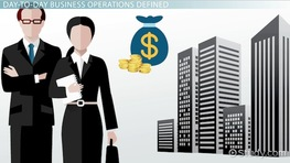 Day-To-Day Operations of a Business: Definition & Explanation