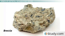 Detrital & Chemical Sedimentary Rocks: Definition & Differences