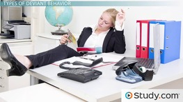 Deviant Workplace Behavior: Negative Effects on an Organization
