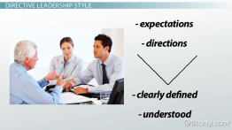 Directive Leadership Style: Definition & Concept