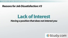 Job Dissatisfaction: Causes, Reasons and Employee Responses
