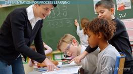 Adapting Instruction to Different Learning Styles & Processes