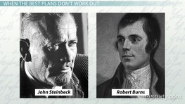 Of Mice and Men & the Poem To a Mouse by Robert Burns