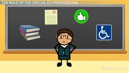 Roles & Responsibilities of Special Education Professionals