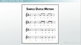 Duple Meter: Definition & Example
