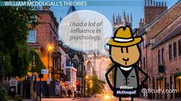 William McDougall: Theories & the Watson-McDougall Debate