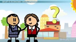What is Economic Development? - Definition & Examples
