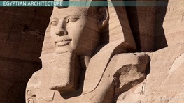 Egyptian Culture & Architecture During the Bronze Age