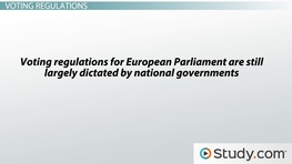Elections and Apportionment to the European Parliament