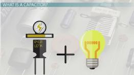 Electrical Energy Storage of Capacitors: Physics Lab
