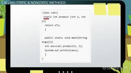 Static vs. Non-Static Methods in Java