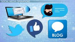 Internet Communication: Social Media, Email, Blog, & Chat