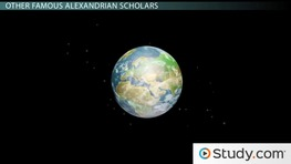 Euclid, Archimedes & Ptolemy: Alexandrian Hellenistic Philosophers