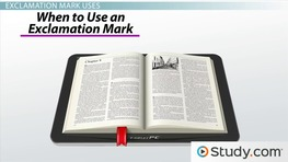 Exclamation Mark: Use & Meaning