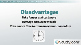 External Recruitment: Advantages, Disadvantages & Methods