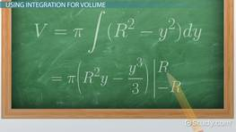 Derivation of Formula for Volume of the Sphere by Integration