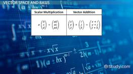 Finding the Basis of a Vector Space