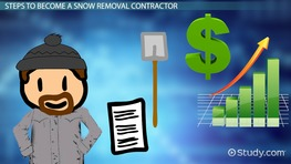Info On Becoming A Snow Removal Contractor