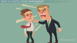 What Is a Hostile Work Environment? - Definition, Laws & Examples