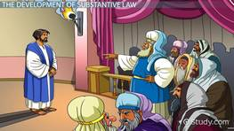 Substantive Criminal Law: Definition & Development