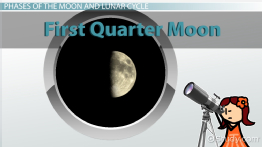 First Quarter Moon: Definition & Summary