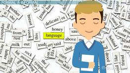 Informal vs. Formal Language in Language Acquisition