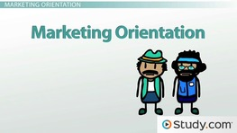 Marketing, Production, Sales & Societal Marketing Orientation