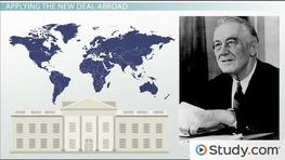 Franklin D. Roosevelt's Foreign Policy Prior to World War II