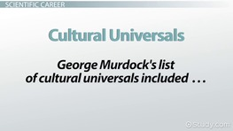 George Murdock's Sociology Theories on Family & Culture