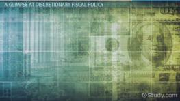Discretionary Fiscal Policy: Definition & Examples